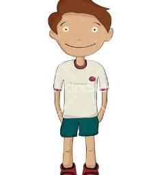 Kid Hands in Pockets Cartoon