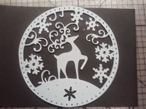 paper     christmas card   svg
