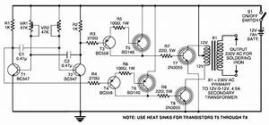 2000w 12v simple inverter circuit diagram circuit With 5w simple inverter