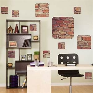 Brick decals wall stickers