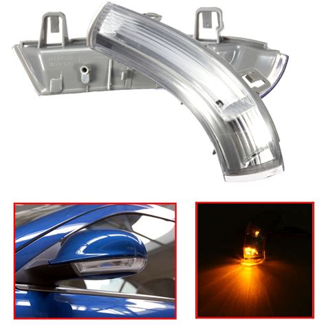 wing mirror indicator turn signal led lens bulb for vw