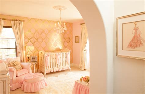 Little Girls Princess Bedroom by Ivory Amp Pink S Nursery By Little Crown Interiors