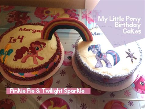 pony twilight sparkle pinkie pie birthday