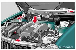 Engine Number Location For 1999 Clk 320