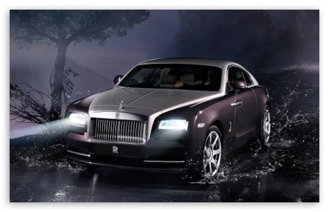 2014 Rolls Royce Wraith 4k Hd Desktop Wallpaper For 4k