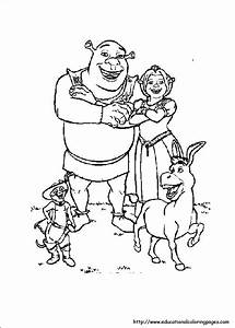 Barbie Coloring Sheets Shrek 3 Coloring Educational Fun Kids Coloring Pages And