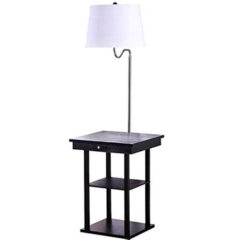 brightech madison led floor l end tables with built in ls solve space problems the