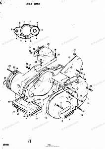 Suzuki Motorcycle 1977 Oem Parts Diagram For Cover