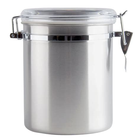 156 Qt Stainless Steel Ingredient Storage Canister With
