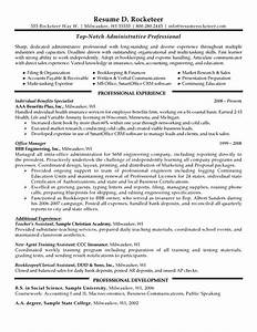resume examples Examples Professional Resumes High