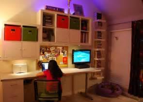 Ikea Living Room Ideas 2012 by Cool Teen Bedroom Workstation Ikea Hackers Ikea Hackers