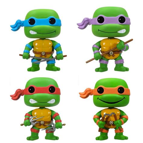 cuisine jouet figurine pop tortues donatello raphael leonardo
