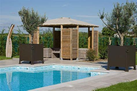 cuisine équipé pool house piscine piscine services