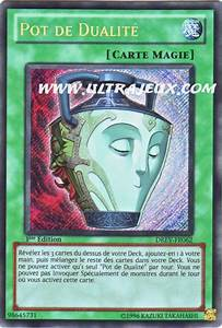 UltraJeux Pot De Dualit DREV FR062 Carte Yu Gi Oh