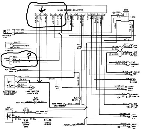 1992 Dodge Dakotum Ignition Wiring Diagram by Coil Why Is Their No Going To My Coil
