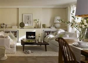 Korbstühle Für Esszimmer : dunkles wohnzimmer entdeckt den landhausstil sch ner wohnen ~ Indierocktalk.com Haus und Dekorationen