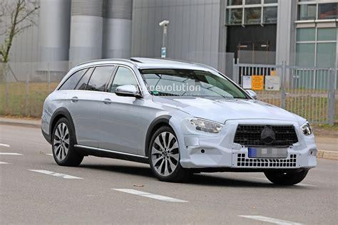 2020 Mercedesbenz Eclass Spied, Is Getting A New Face