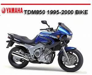 Yamaha Tdm850 Tdm-850 1995-2000 Bike Repair Manual