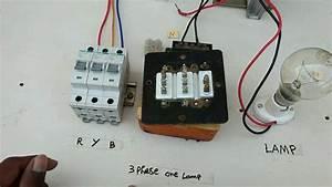 Three Phase Use One Lamp