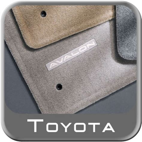 2005 toyota avalon floor mats 2005 2012 toyota avalon carpeted floor mats light gray