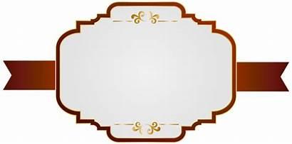 Label Labels Clipart Clip Border Transparent Yopriceville