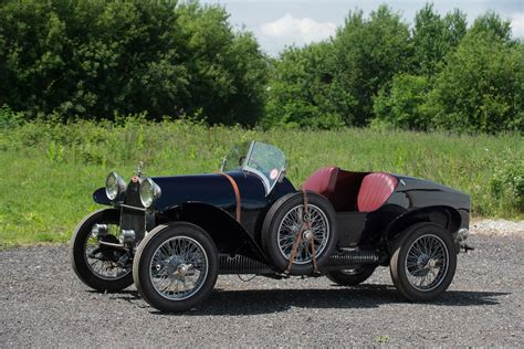 Production of the type 13, and later types 15, 17, 22, and 23, began with the company's founding in 1910 and lasted through 1920, with 435 examples produced. Bonhams : 1923 Bugatti Type 23 Brescia Modifié Torpedo Chassis no. 1709