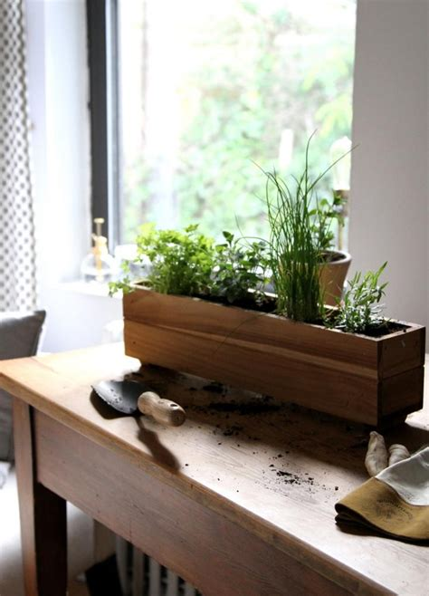Window Sill Garden Planters by Eat Out Of Your Own Potted Garden Hometriangle