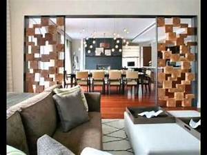 Best Living room partition decorations ideas - YouTube