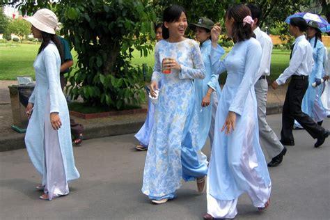 Fantastic Red Vietnam Women Dress