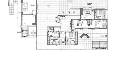 villa tugendhat floor mies der rohe villa tugendhat 3rd floor plan