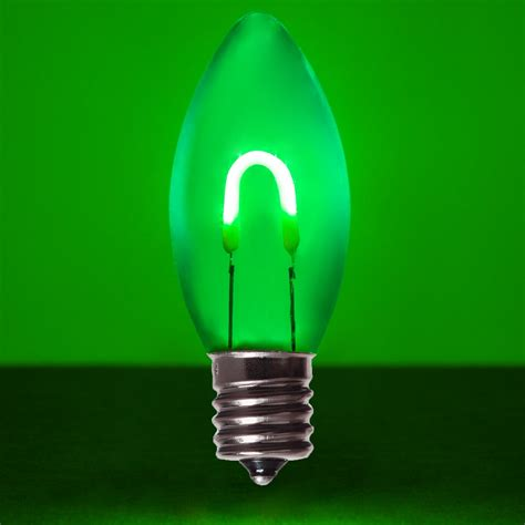 green acrylic flexfilament tm led vintage christmas