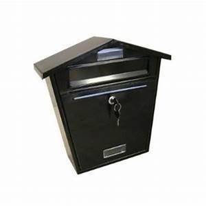 Decent traders heavy duty epoxy waterproof post letter for Heavy duty letter box