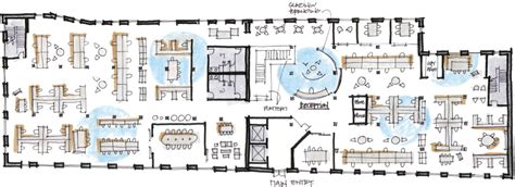 Open Space Floor Plan by Logmein Workplace Research Resources Knoll