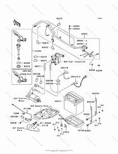 Kawasaki Jet Ski 2007 Oem Parts Diagram For Electrical Equipment