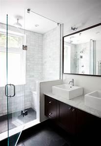 Floating Double Vanity - Contemporary - bathroom - Ty ...