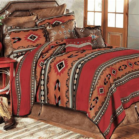 Western Bedding Sets: Queen Size Southwestern Cibola Bed