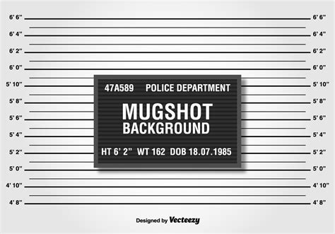 mugshot template mugshot free vector 1095 free downloads
