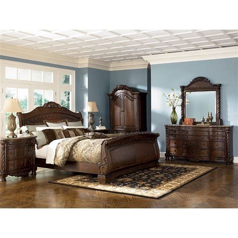 Bedroom Sets Mn by Shore Sleigh Bedroom Set By Millennium 4 Review S