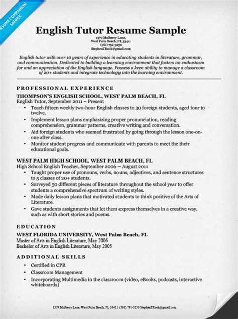 English Tutor Resume Sample  Resume Companion. Resume Analysis Tool. Resume Samples Sales. Sample Resume For Interior Designer. Free Sample Resume Templates Word. Best Resume Format Examples. Rn Resumes Samples. Summary In Resume Examples. Career Profile Resume