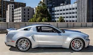 ford designed  built custom wide body mustang
