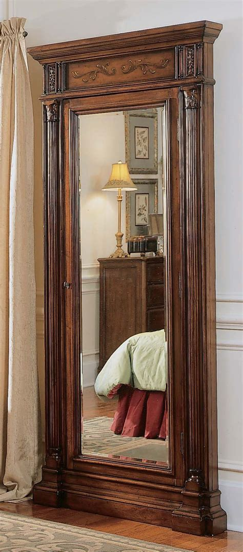 Large Mirror Jewelry Armoire by Seven Seas Jewelry Armoire With Mirror For The Home