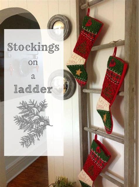 stockings   ladder  creek  house