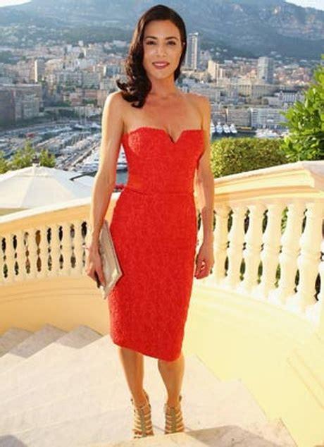 elegantes rotes kleid rotes enges kleid