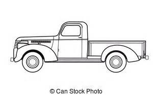 classic truck clipart and stock illustrations 3348 With 1941 ford coupe red