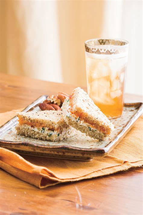 easy elegant tea sandwiches southern living
