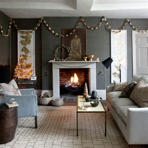 Design Ideas Decorating With Festive Metallics  Ideal Home