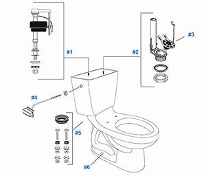 Mansfield Maverick Toilet Replacement Parts