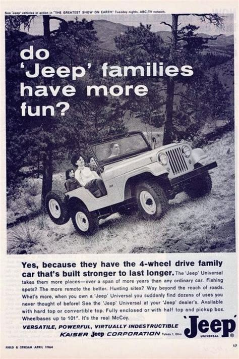 jeep wrangler ads love this old ad jeep wrangler pinterest