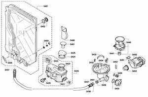 Pump Assy Diagram  U0026 Parts List For Model Shx68e05uc01