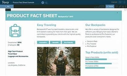 Fact Sheet Create Sheets Xtensio Step